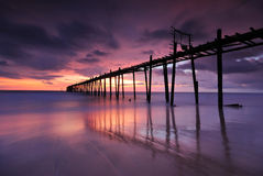 Wooden Pier Stock Images