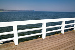 Wooden pier Royalty Free Stock Photos