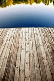 Wooden pier. Royalty Free Stock Photography