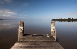 Free Wooden Pier Royalty Free Stock Images - 53564109