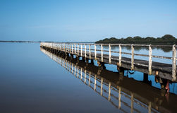Free Wooden Pier Royalty Free Stock Images - 53564179