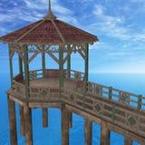 Wooden Pier Stock Photos