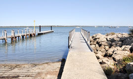 Free Wooden Pier And Boat Launch Royalty Free Stock Photos - 64475338