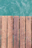 Wooden pier backgound Royalty Free Stock Images