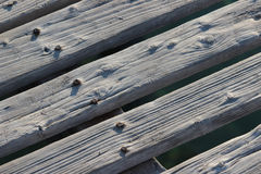 Wooden pier background stock photos