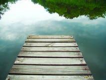 Wooden pier Stock Photo