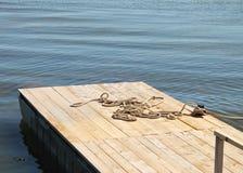 Wooden pier Royalty Free Stock Photos