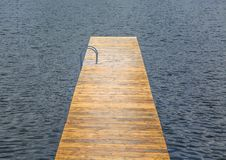 Wooden pier Royalty Free Stock Images