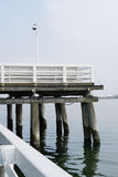 Wooden pier in Sopot, Poland Royalty Free Stock Image