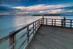 Wooden Pier Stock Image