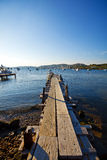 Wooden pier Royalty Free Stock Photography