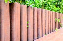 Wooden Pillared Fence Stock Photos