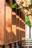 wooden pillars Royalty Free Stock Photos