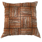 Wooden pillow Stock Images