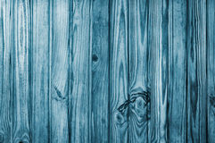 Wooden Pine background or texture Blue Stock Images