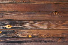 Wooden background, stained with age Royalty Free Stock Images