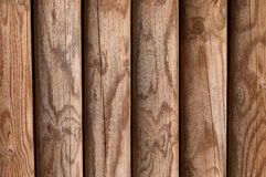 Wooden pine panel fence background texture bright Royalty Free Stock Photo