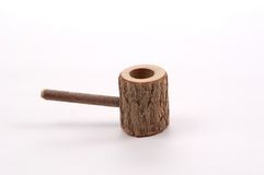 Wooden Pipe Stock Photo