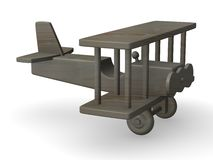 Wooden plane Stock Photography