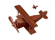 Wooden plane Royalty Free Stock Photo
