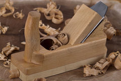 Free Wooden Plane Royalty Free Stock Images - 19632829