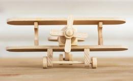 Wooden plane model Stock Image