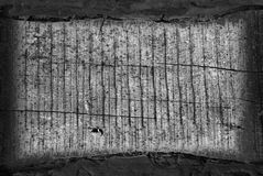 Wooden plank. Obsolete wooden rough plank vignette background Royalty Free Stock Photography