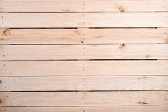 Wooden plank as background. Wooden wall plank in background stock image