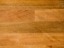 Wooden plank desk table background texture top view. Close up stock image