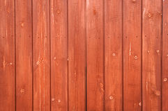 Wooden Plank Fence Royalty Free Stock Photography