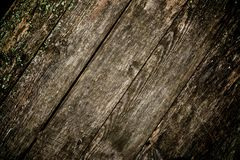 Wooden plank floor Stock Image