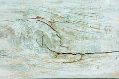 Wooden Plank with fissures. Weathered wooden plank with cracks Stock Images