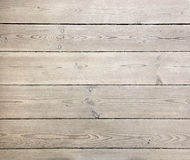 Wooden plank. Old wooden plank on the floor stock photo
