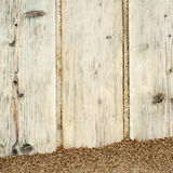 Wooden plank path Royalty Free Stock Image