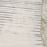 Wooden plank path Stock Photography