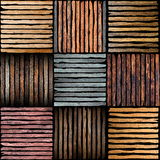 Wooden plank pieces Stock Images