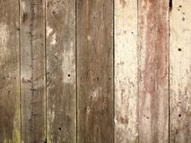 Wooden plank texture wall as a background. Dark brown wooden plank texture wall background Stock Image