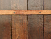 Wooden plank wall background. Pattern of wooden plank wall, wood background Royalty Free Stock Images