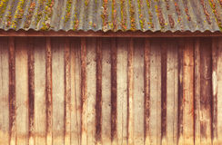 Wooden Plank Wall Stock Image