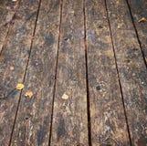 Wooden planked floor Stock Image