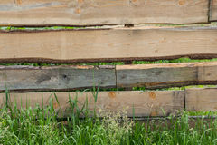 Wooden planking Royalty Free Stock Image