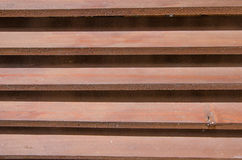 Wooden planking dark brown fragment background Royalty Free Stock Image