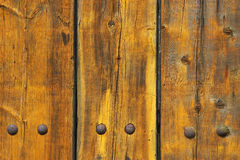 Wooden planks. Detail of wooden planks royalty free stock photography