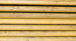 Wooden planks. Old yellow painted wooden planks Stock Photo