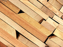 Wooden planks. Angled background of wooden planks Royalty Free Stock Images