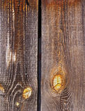 Wooden planks. Obsolete wooden rough planks backgrounds Stock Photography