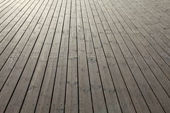 Wooden planks background. Wooden planks that make up a large pier Stock Photo