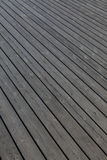Wooden planks background. Wooden planks that make up a large pier Stock Photography