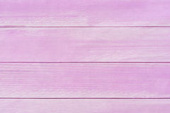 Wooden planks background, pink floor background Royalty Free Stock Photography