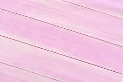 Wooden planks background, pink floor background Stock Images